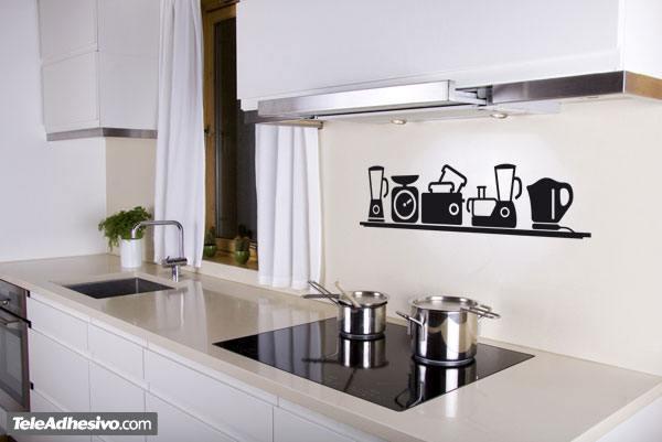 Vinilo de cocina peque os electrodom sticos - Pequenos electrodomesticos de cocina ...