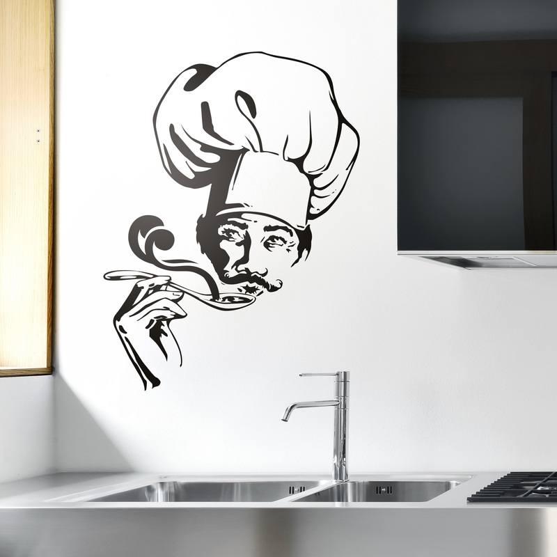 Vinilo decorativo cocina for Vinilos pared cocina