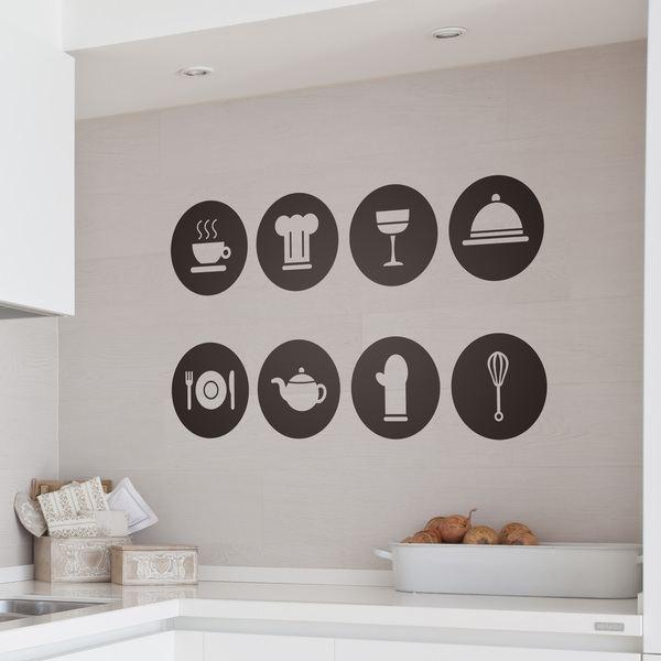 Vinilos de cocina y muebles de cocina - Vinilos decorativos comedor ...