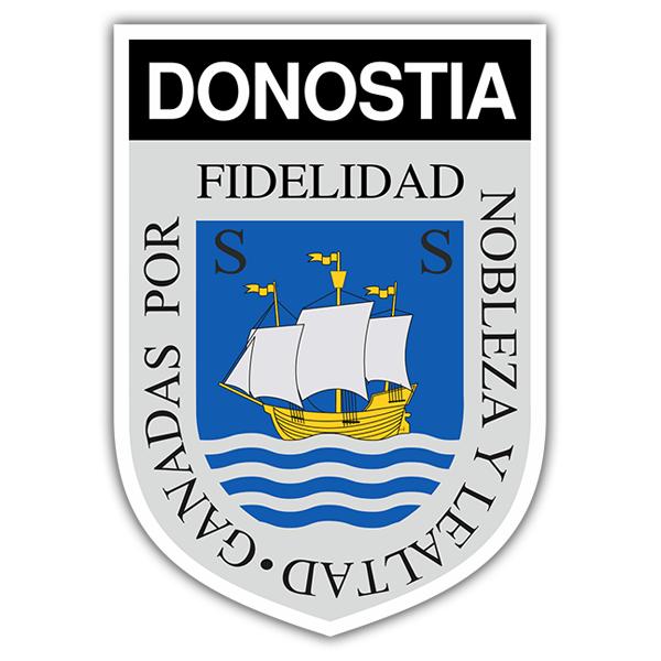 Adhesivo escudo donostia for Cerrajeros donostia 24 horas