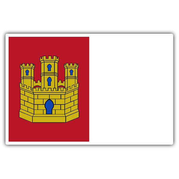 Adhesivo Bandera De Castilla La Mancha Teleadhesivo Com