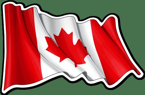 Resultado de imagen de bandera canada