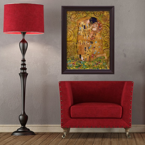 Cuadros famosos en versi n vinilo para tu pared for Diseno de paredes con cuadros