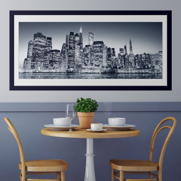 Vinilos Decorativos: Blue Manhattan