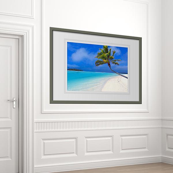 Vinilos de cuadros enmarcados efecto 3d - Vinilos decorativos cristal ...
