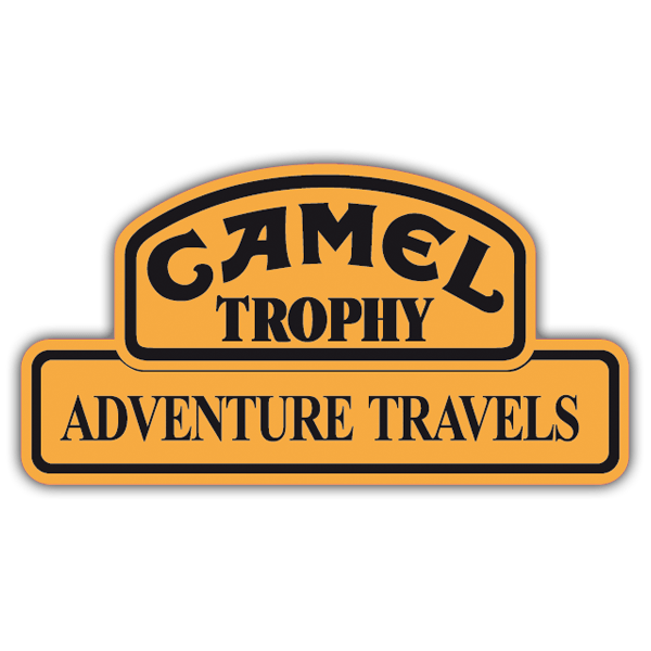 Pegatinas: Camel Adventure Travels 0