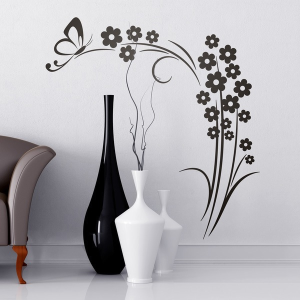Vinilos Decorativos Florales Teleadhesivo