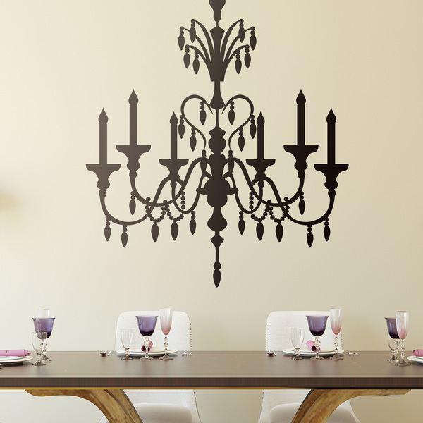 Vinilo decorativo lampara colgante vintage for Precio de vinilos decorativos