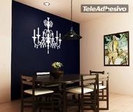 Vinilos Decorativos: lampara vintage 1