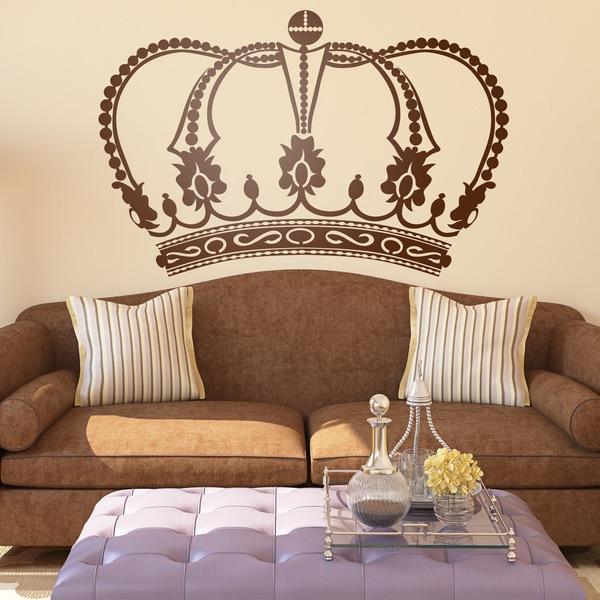 Vinilo decorativo corona for Vinilos decorativos recamaras