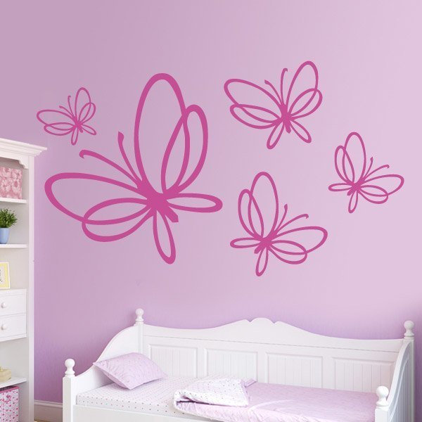 Vinil decorativo mariposas imagui for Vinilos mariposas