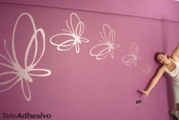 Mariposas for Vinilos mariposas