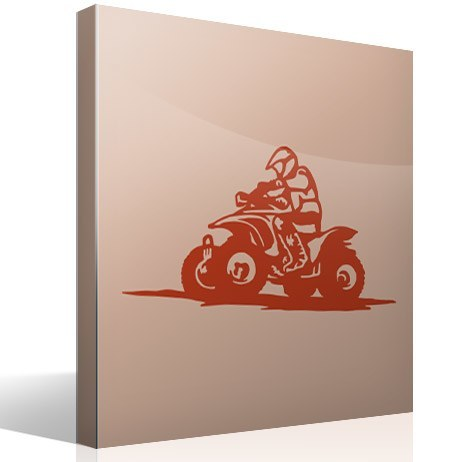 Vinilos Decorativos: Quad Adventure