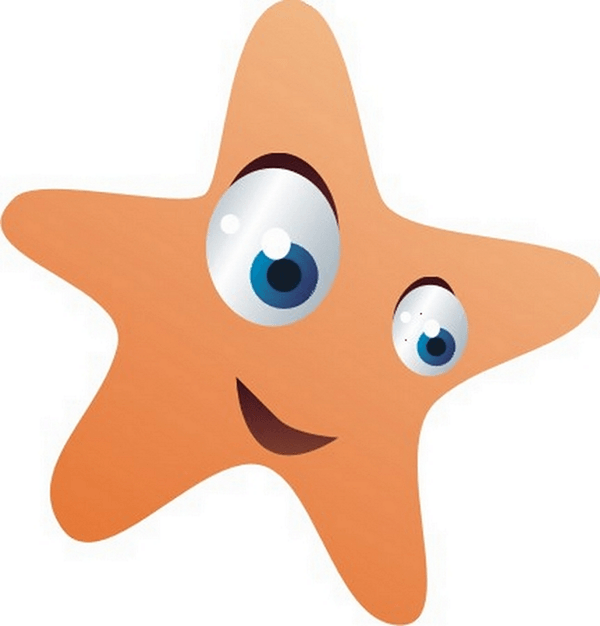 Vinilo Infantil Estrella De Mar Teleadhesivocom