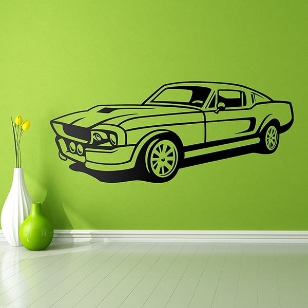 Vinilos Decorativos: Ford Mustang Shelby
