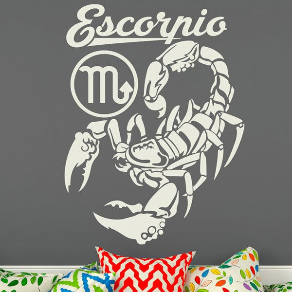 Vinilos Decorativos: Escorpio