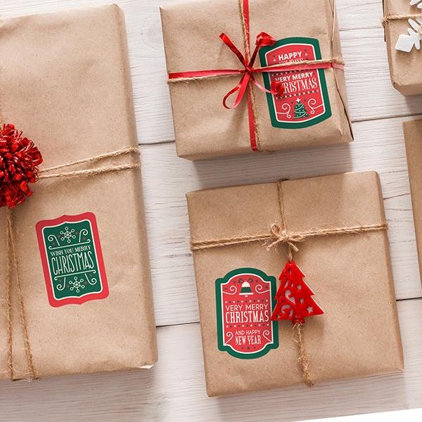 Kit de etiquetas navideñas Christmas