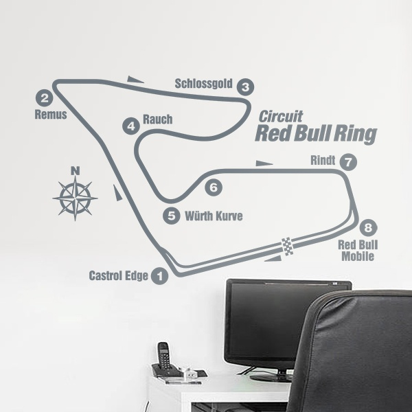 Vinilos Decorativos: Circuito Red Bull Ring
