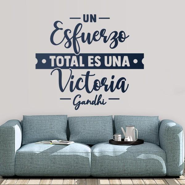Vinilos Decorativos De Frases Célebres Teleadhesivo