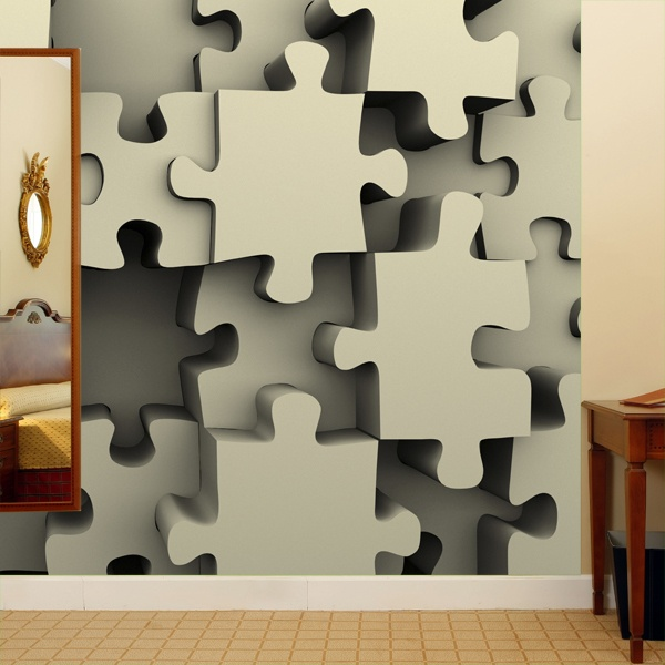 Fotomurales: Puzzle