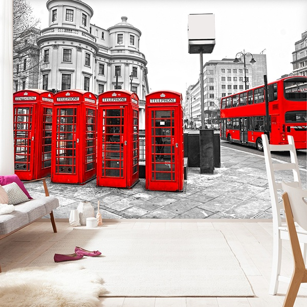 Fotomurales: London in Red
