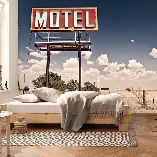 Fotomurales: Motel on Route 66