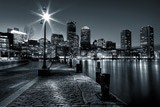 Fotomurales: Boston nocturno 3