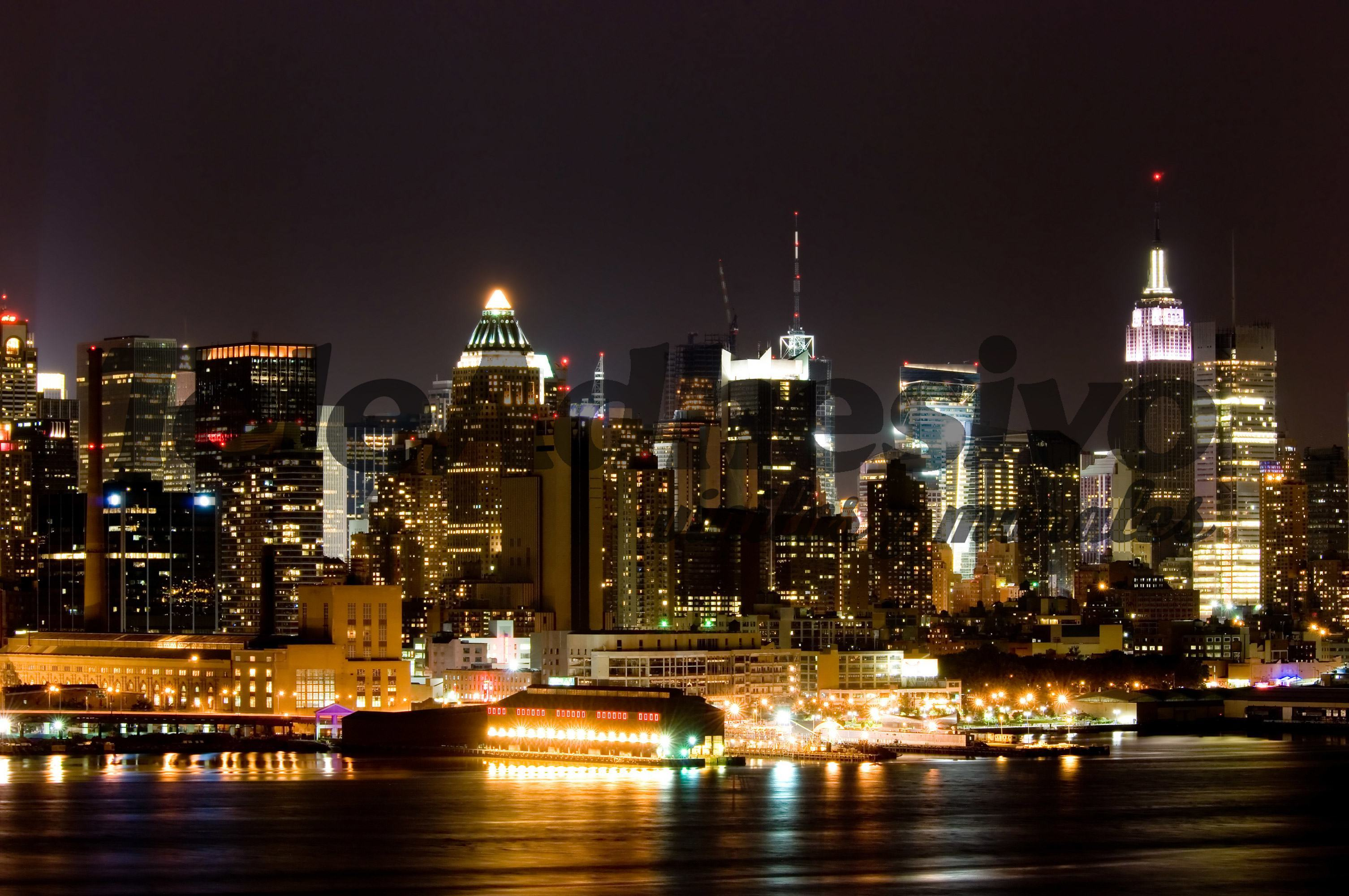 Fotomurales: New York nocturna