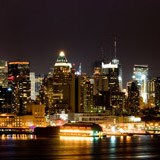 Fotomurales: New York nocturna 3