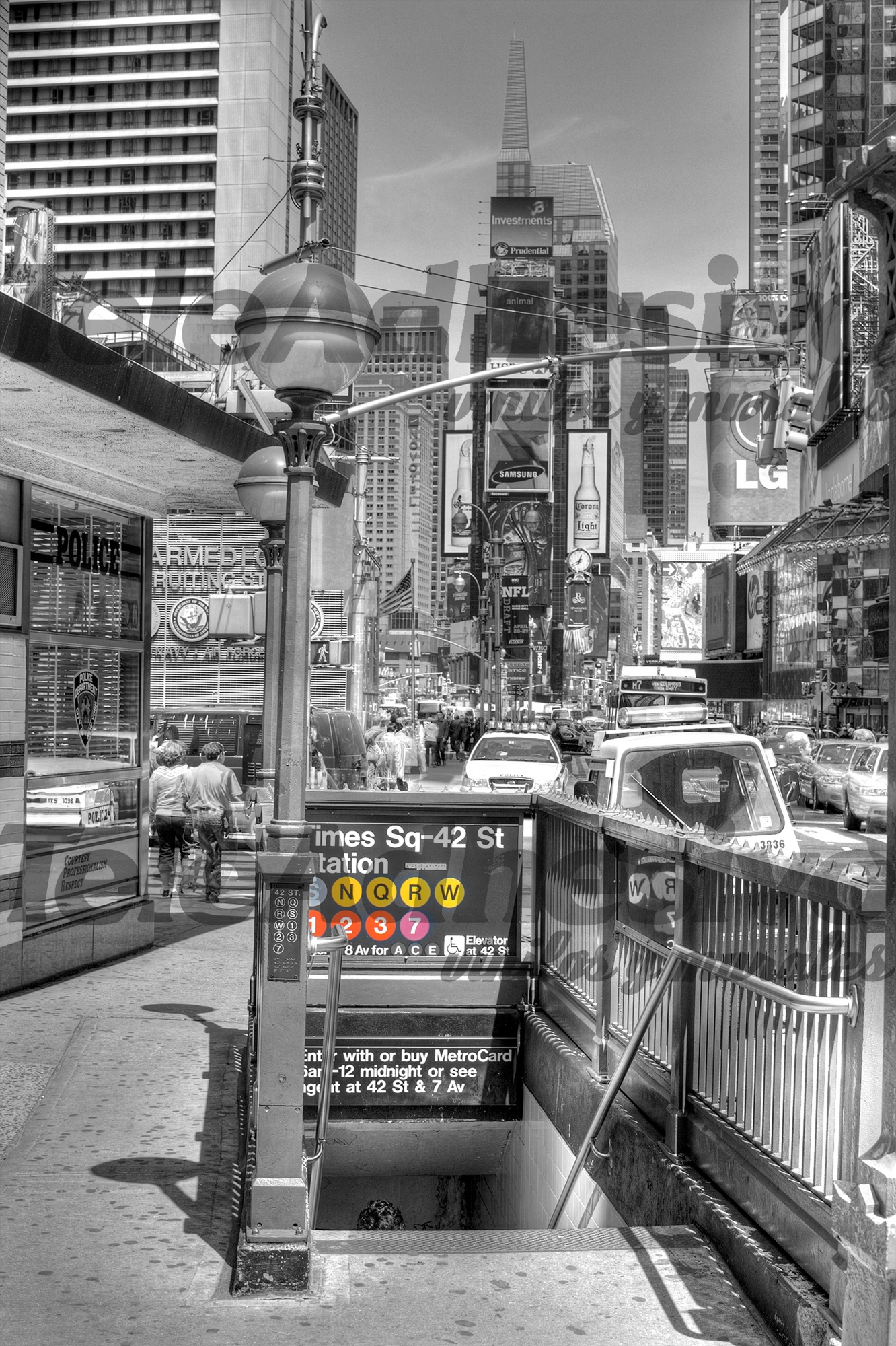 Fotomurales: Times square undreground