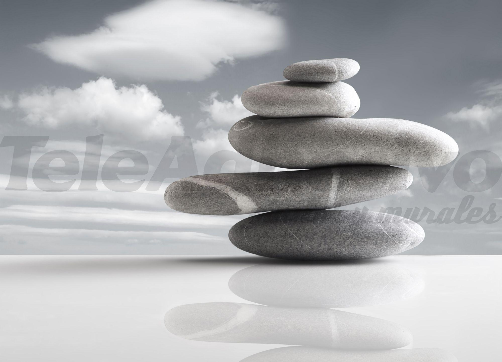 Piedras en el horizonte for Fotos piedras zen