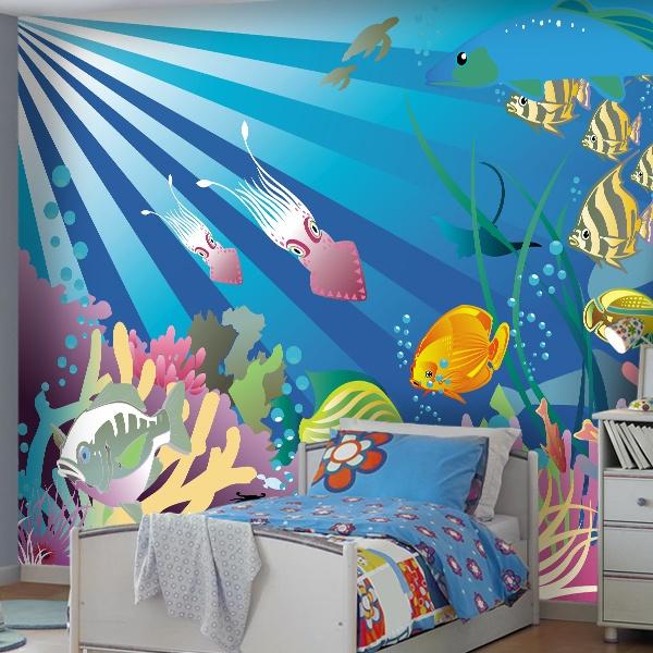 Fotomurales de fondos marinos for Murales de fotos para pared
