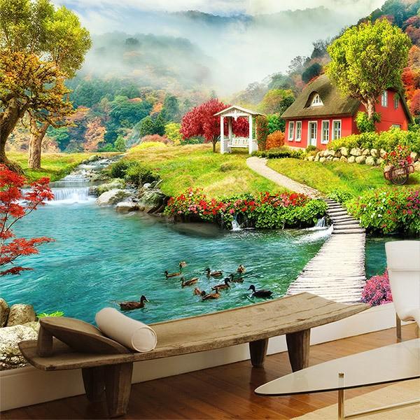 Fotomurales de paisajes for Decoracion y paisaje s a