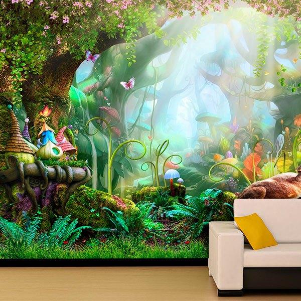 Murales Infantiles De Bosques