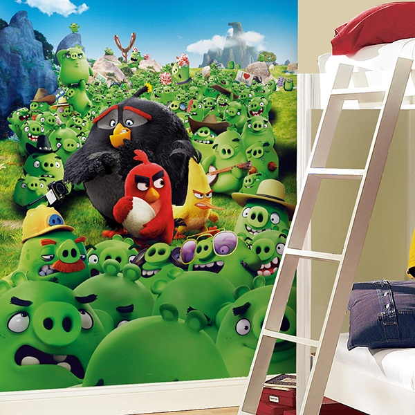 Fotomurales: Angry Birds Mountain
