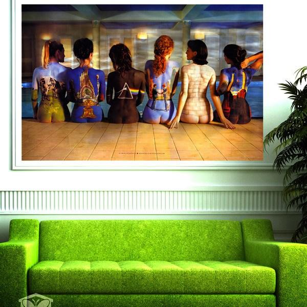 Poster Adhesivo Pink Floyd Portadas Discos Teleadhesivo Com