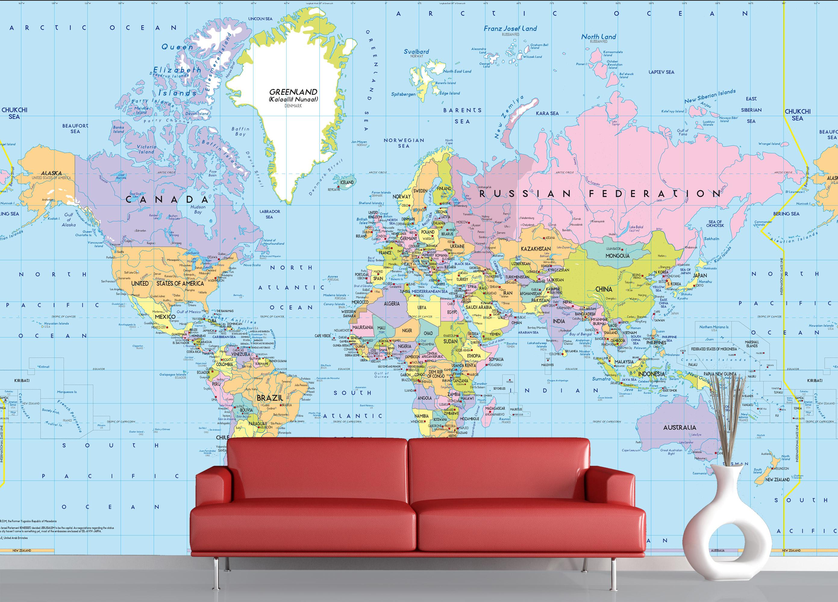 Mapa Mundo Político 1