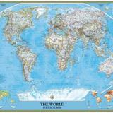 Fotomurales: Mapa del mundo político Actual 3