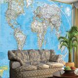 Fotomurales: Mapa del mundo político Actual 4