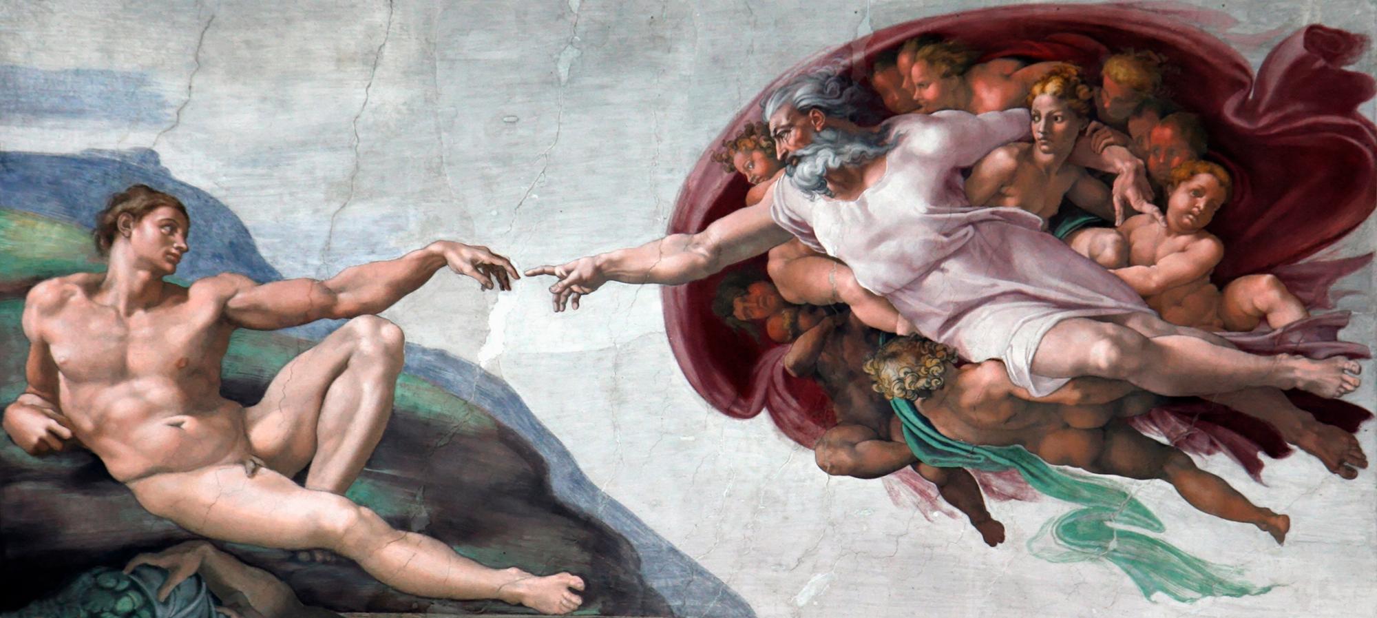 Fotomurales: Creación de Adan_Michelangelo