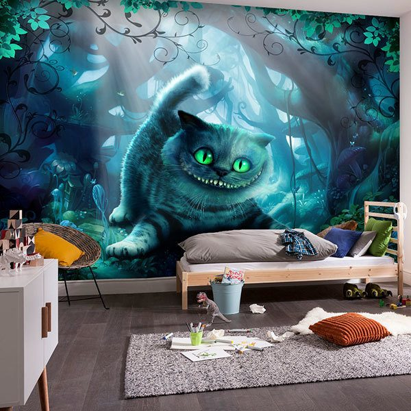Murales Y Vinilos Para Habitaciones Infantiles.Fotomurales Para Habitacion Infantil Teleadhesivo