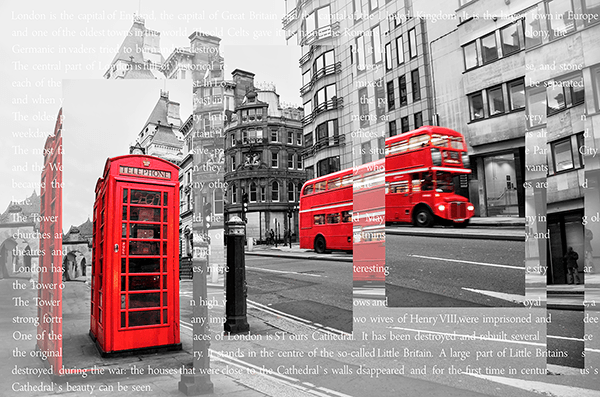 Fotomurales: Collage Londres
