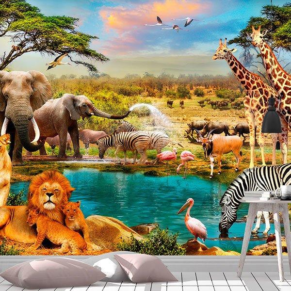 Fotomurales De Animales Teleadhesivo
