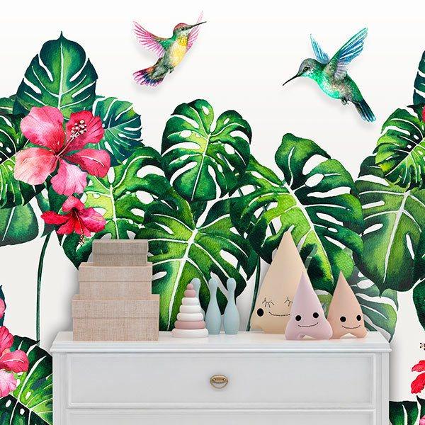 Murales Naturaleza Infantiles