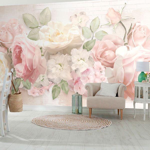 Como Hacer Murales De Flores