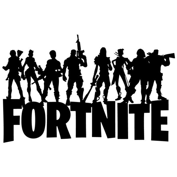 Vinilos Decorativos: Fortnite Battle Royale