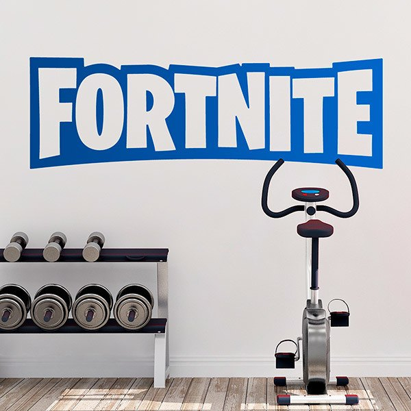 Vinilos Decorativos: Fortnite logo 0