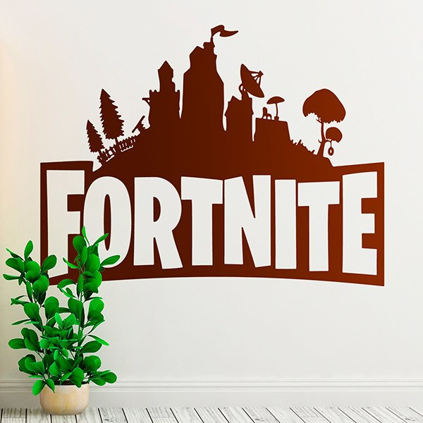 Vinilos Decorativos: Refugio Fortnite