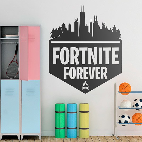 Vinilos Decorativos: Fortnite Forever