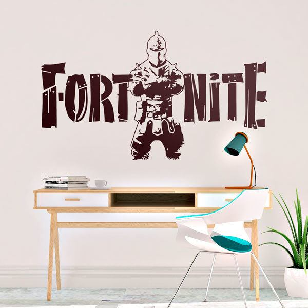 Vinilos Decorativos: Guerrero Fortnite